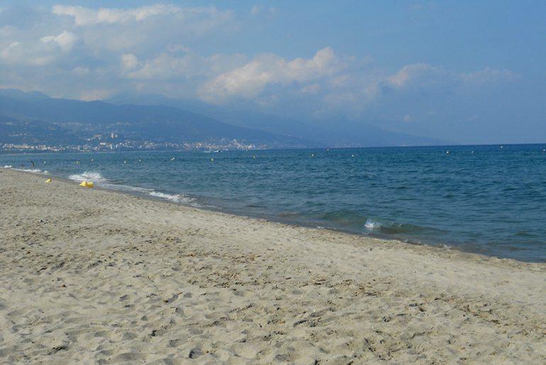 Plaża przy San Damiano