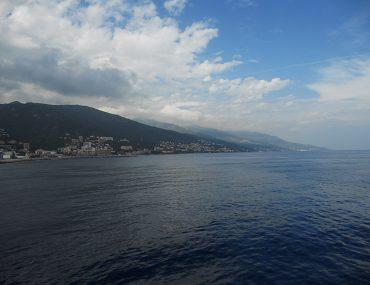 Bastia - widok z promu