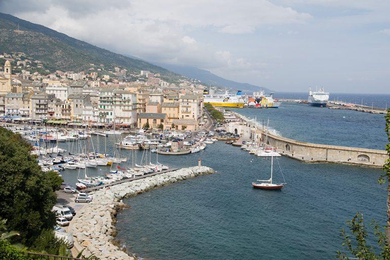 Bastia - stary port