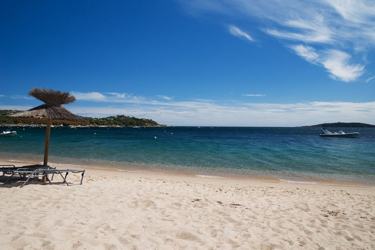 Plaża w Cala-Rossa