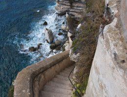 Bonifacio - schody króla Aragonii