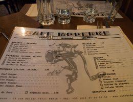 Cafe Moderne - pomysłowe menu
