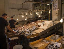 Ateny - targ rybny