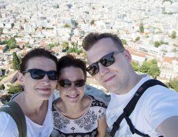 Ateny - na Akropolu