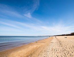 Gdańsk - plaża w Jelitkowie