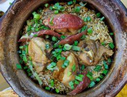 Kuala Lumpur - Chinatown - Tang City Foodcourt - zapiekany ryż z kurczakiem