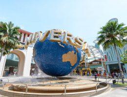 Singapur - Wyspa Sentosa - park Universal Studios