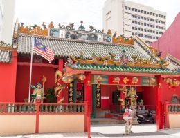 Kuala Lumpur - Chinatown - taoistyczna świątynia Guan Di