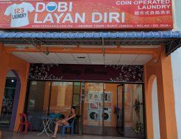 Penang - Georgetown - w oczekiwaniu na pranie