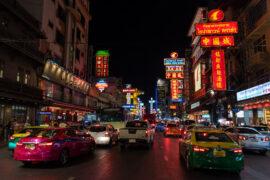 Tętniące życiem Chinatown w Bangkoku