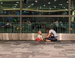 Lotnisko w Bangkoku - czekamy na samolot