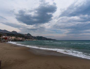 Giardini-Naxos - plaża