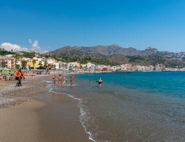 Giardini-Naxos - plaża Lido di Romantica