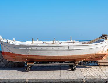 Giardini-Naxos - łódka