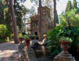 Taormina - park Giardini della Villa Comunale