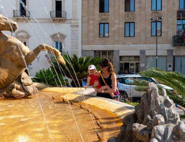 Syrakuzy - Ortygia - Fontana di Diana