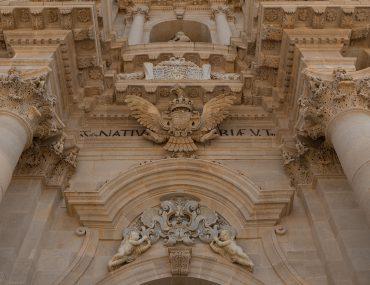 Syrakuzy - Ortygia - Katedra metropolitarna Narodzenia Najświętszej Maryi Panny w Syrakuzach