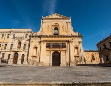 Noto - Basilica Santissimo Salvatore e Torre Belvedere