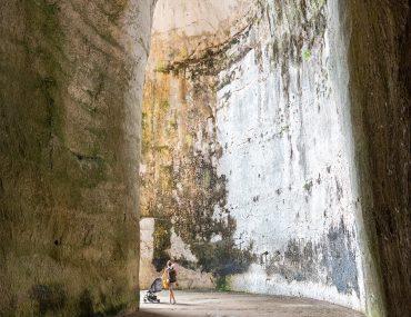 Syrakuzy - Park Archeologiczny w Neapolis - Ucho Dionizjusza