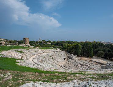 Syrakuzy - Park Archeologiczny w Neapolis - Teatr Grecki
