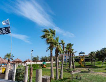 Spiaggia San Lorenzo - Lido Beach Aqua - plac zabaw