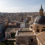 Ragusa - Nowe Miasto - Katedra San Giovanni Battista - widok z wieży