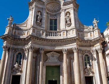 Katania - Basilica della Collegiata