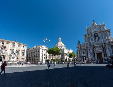Katania - Piazza Duomo - Cattedrale di Sant'Agata