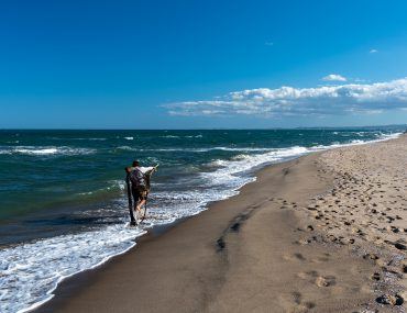 Katania - plaża Le Capannine