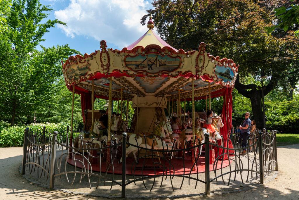 Karuzela w Parku Staromiejskim