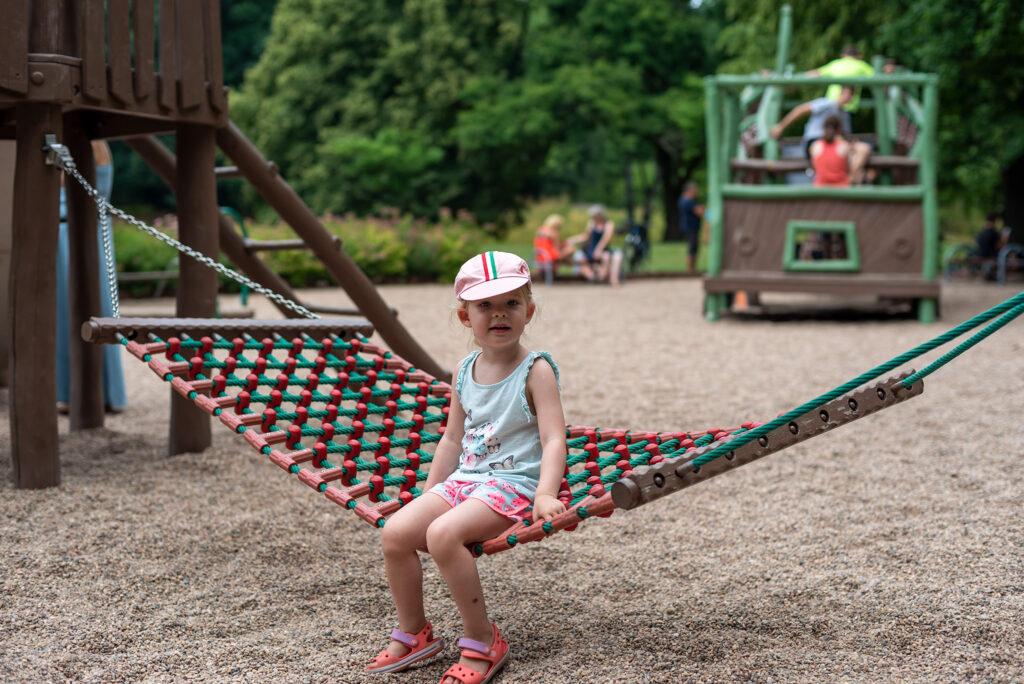 Park Szczytnicki - plac zabaw