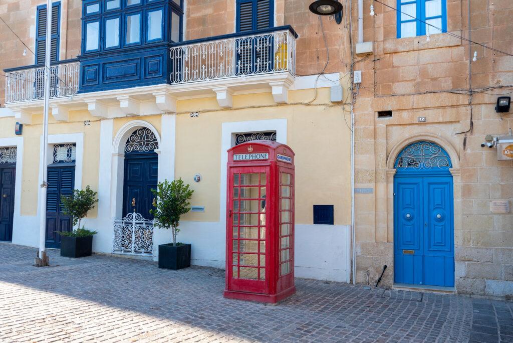 Marsaxlokk - mamy pierwszą czerwoną budkę telefoniczną!