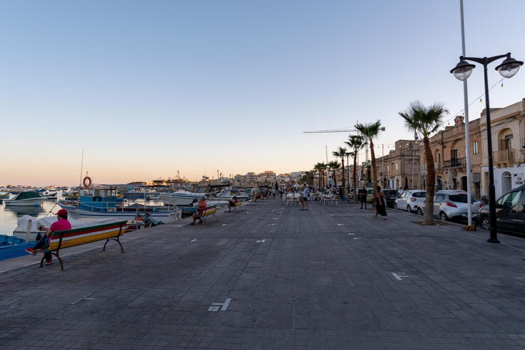 Marsaxlokk - promenada