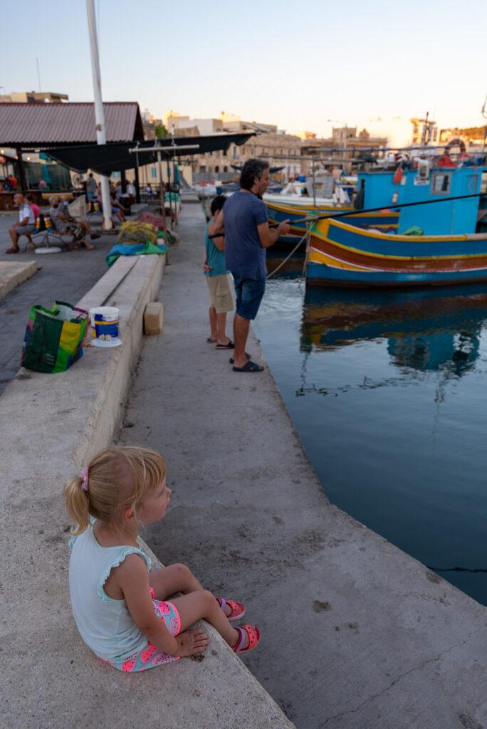 Marsaxlokk - kibic łowienia ryb