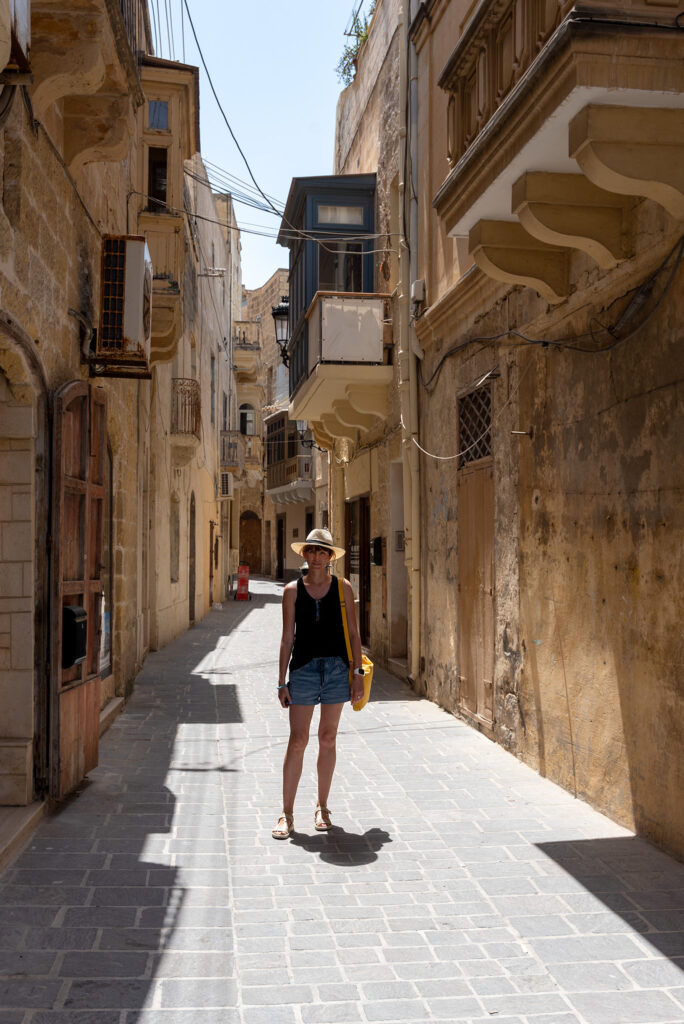 Rabat (Gozo) - niezastąpiony kapelutek przywieziony z Malezji