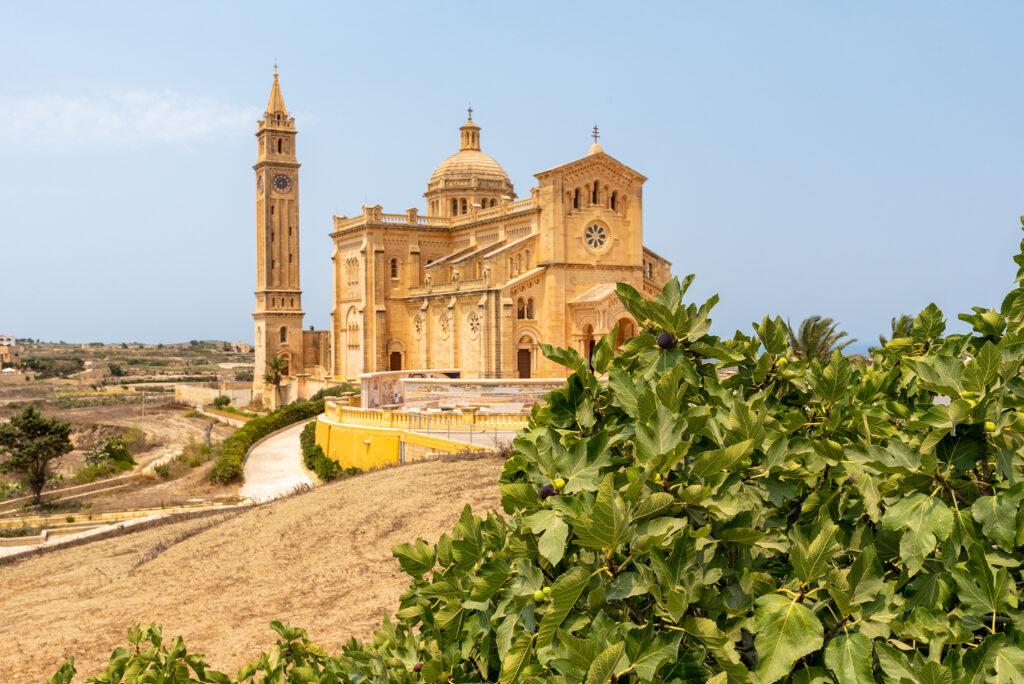 Gozo - Bazylika Ta' Pinu