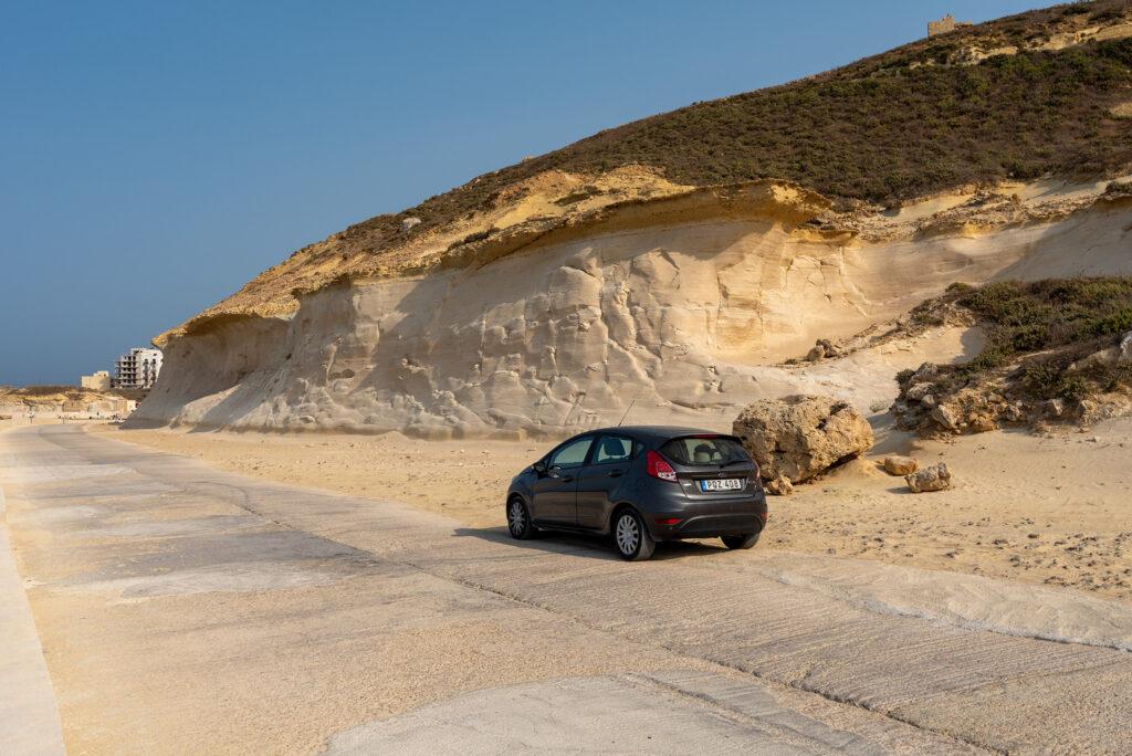 Gozo - wybrzeże północne na zachód od Marsalforn