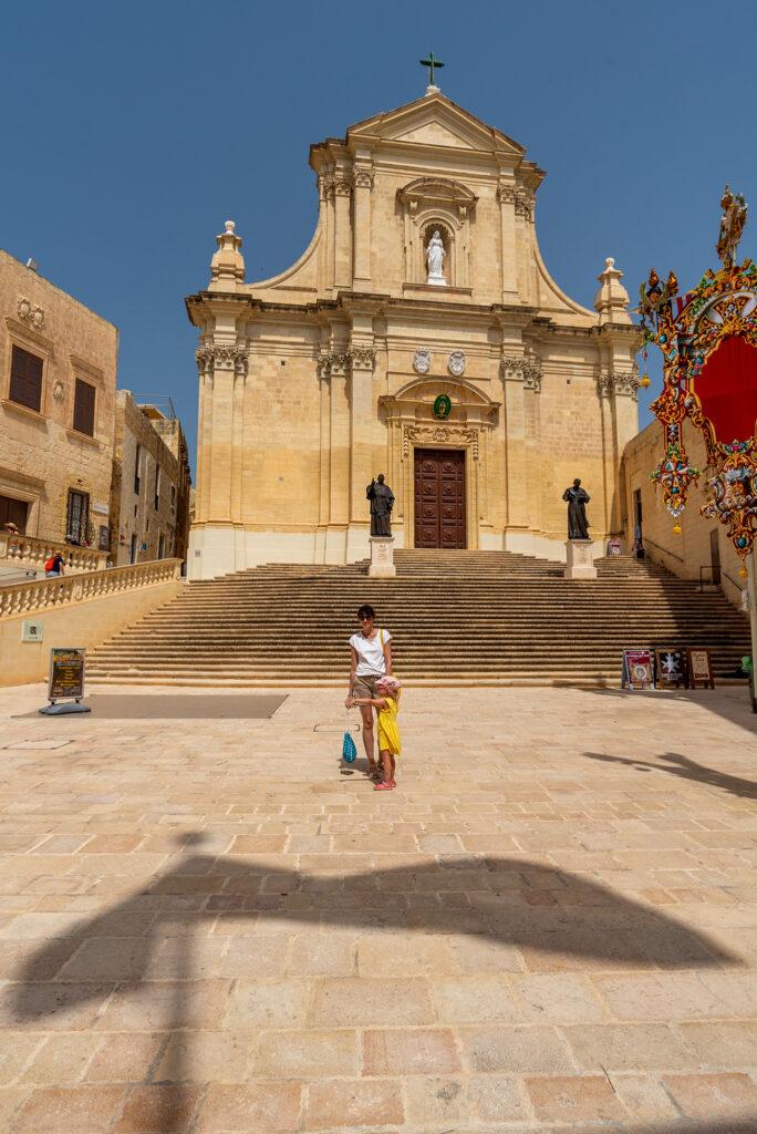 Rabat (Gozo) - Cytadela - Katedra Wniebowzięcia Najświętszej Maryi Panny