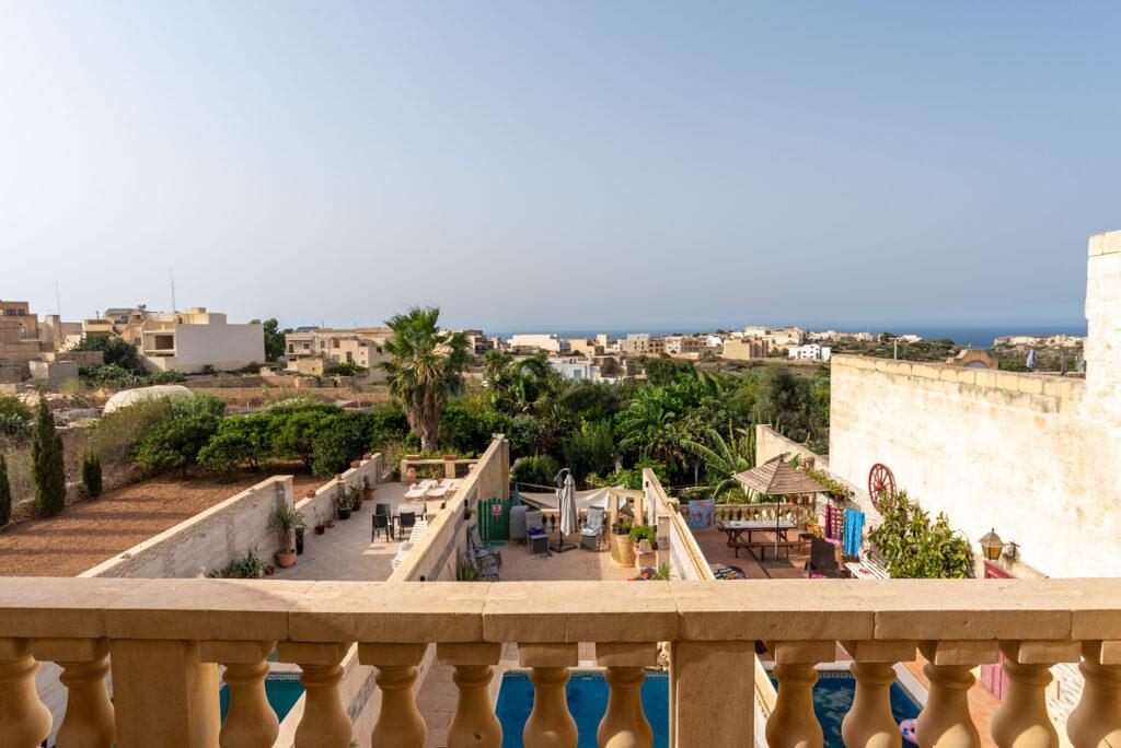 Gozo - Narcisa Farmhouse B&B - najlepsze pokoje to te z balkonem lub tarasem