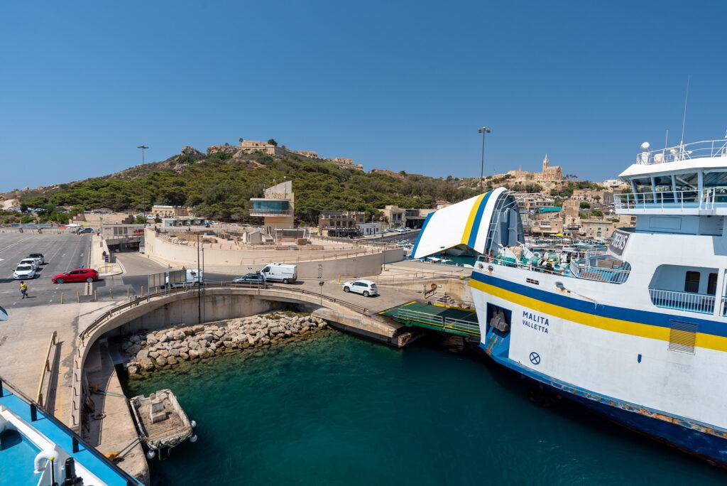 Na promie Gozo - Malta: i pojechały