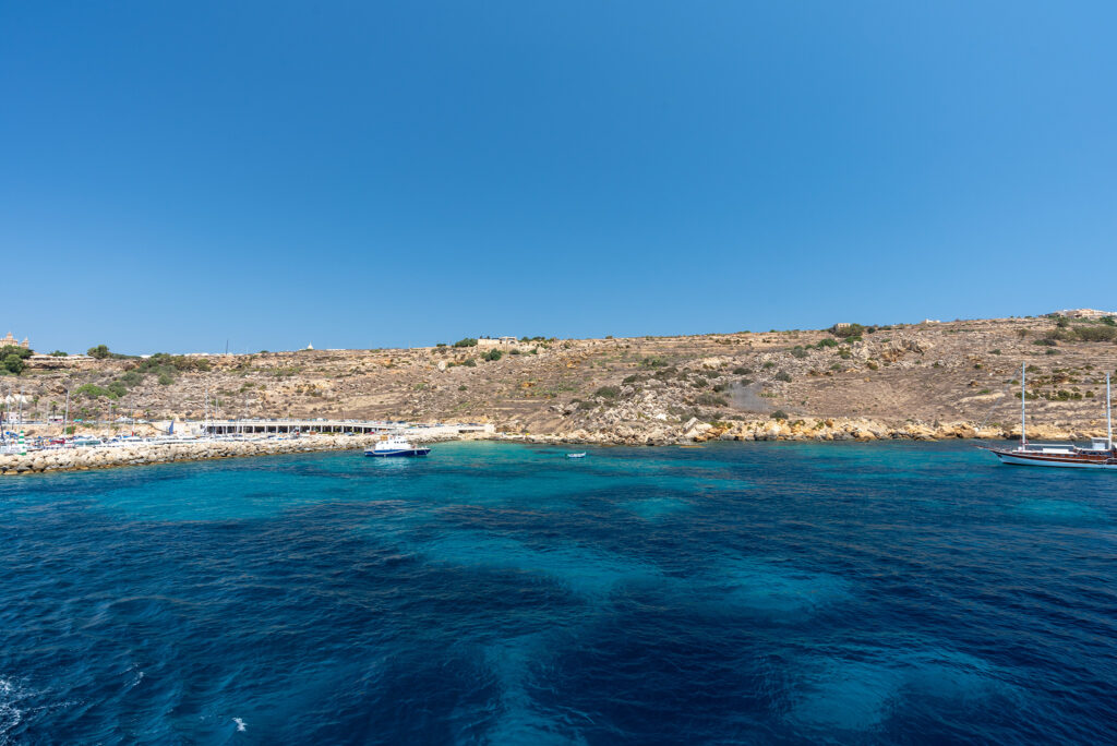 Na promie Gozo - Malta: żegnamy Gozo