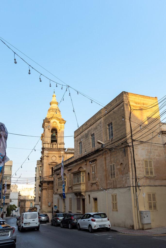Malta - Sliema - Kościół Stella Maris