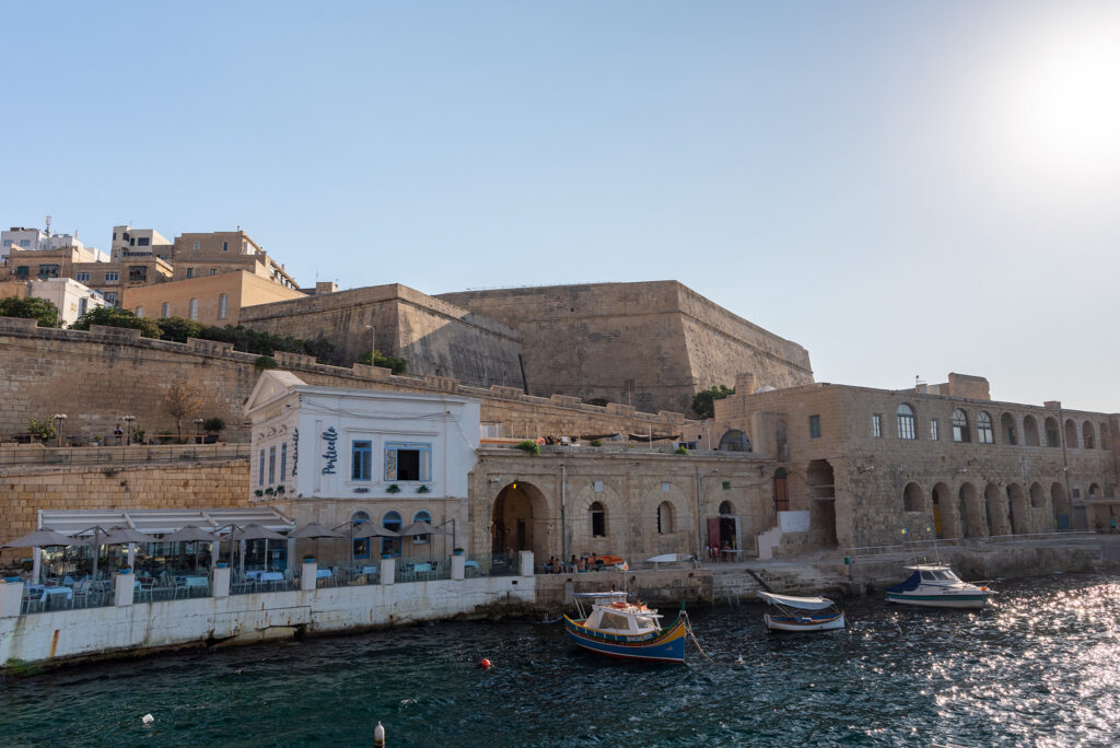 Valletta - przystań promowa