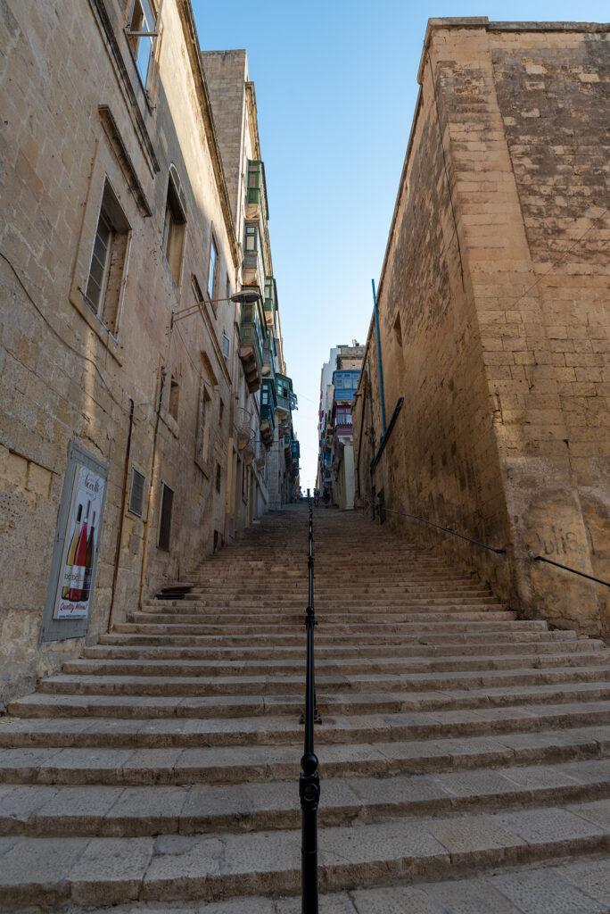 Valletta - lepiej nie brać wózka
