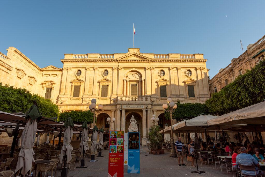 Valletta - Biblioteka Narodowa Malty