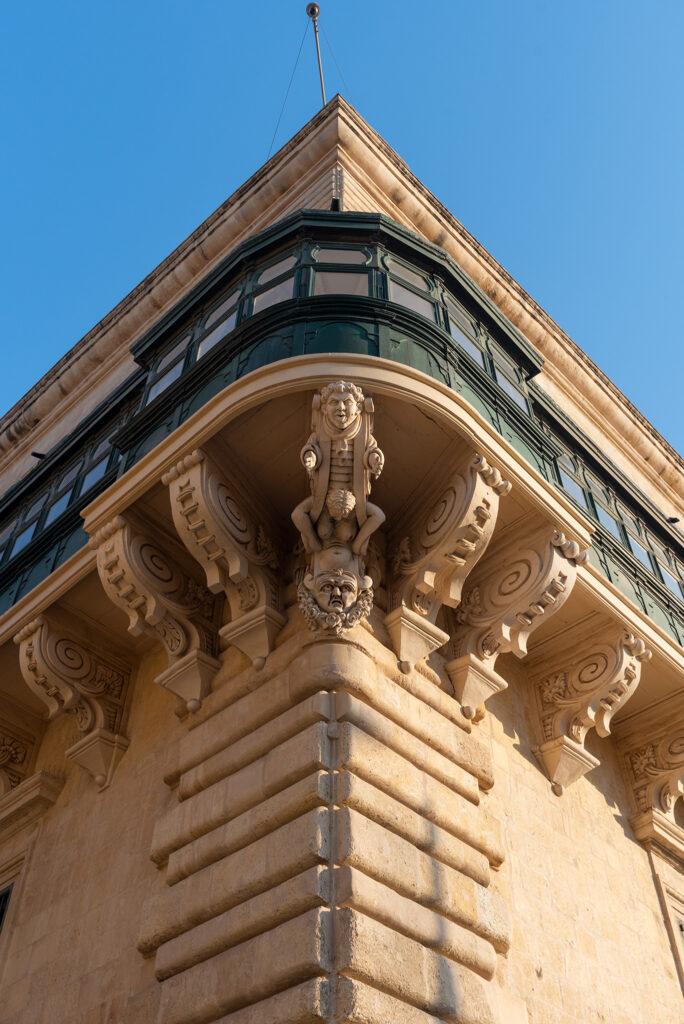 Valletta - St George's Square - Pałac Wielkiego Mistrza