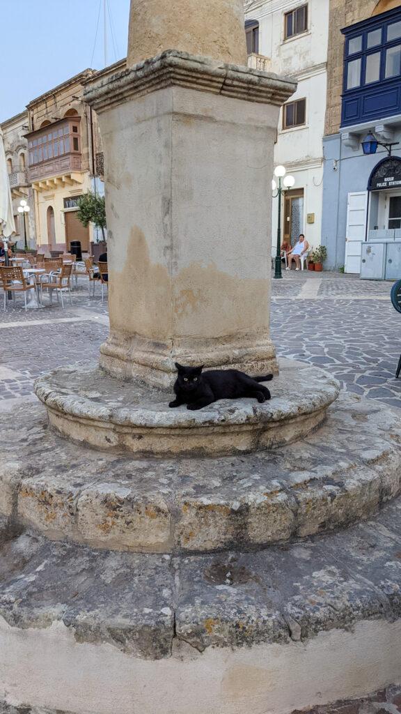 Gozo - Nadur w piątkowy wieczór